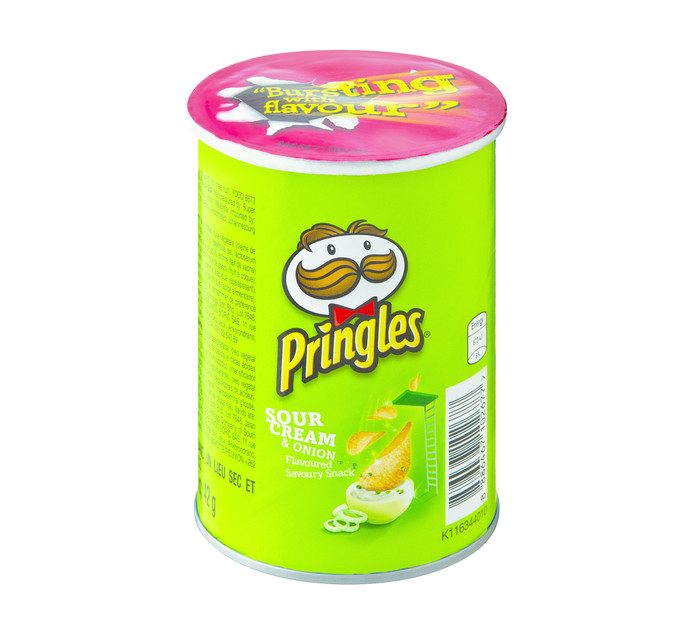 Pringles Chips Sour Cream and Onion (12 x 42g)