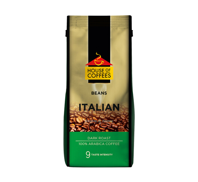 House Of Coffees Coffee Beans Italian Blend (12 x 250g)