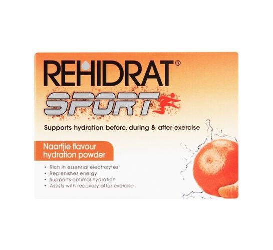 Rehidrat Hydration Powder Sports Naartjie (1 x 6's)
