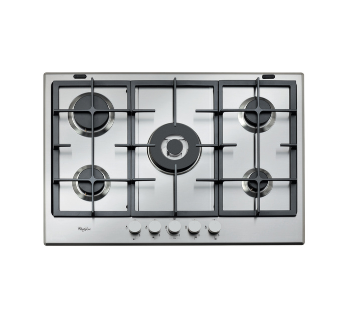 Whirlpool 750 mm 5-Burner Gas Hob