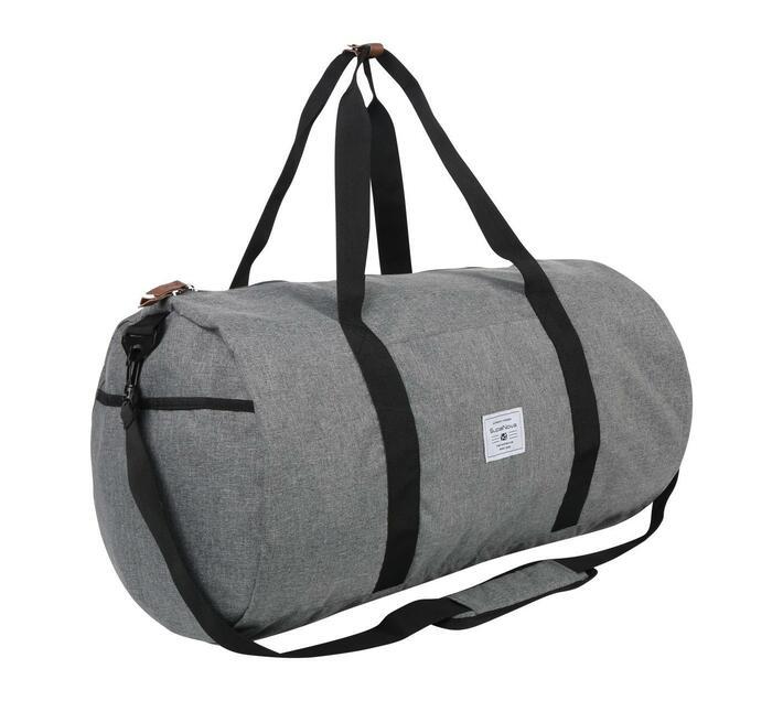 SupaNova Kate Series 56cm Duffel Bag in Grey with Adjustable Shoulder Strap