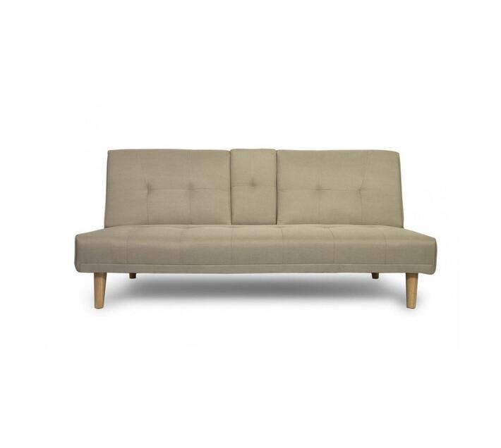 Awe Inspiring Fine Living Isle Couch Sleeper Beige Creativecarmelina Interior Chair Design Creativecarmelinacom