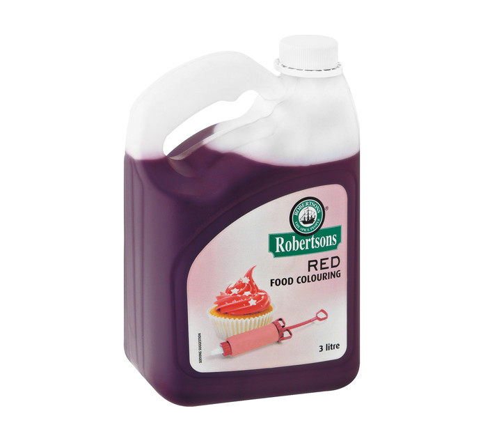Robertsons Food Colouring Red (1 x 3lt)