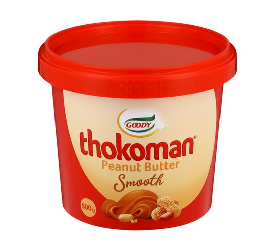 Thokoman Peanut Butter Smooth (18 x 500g)