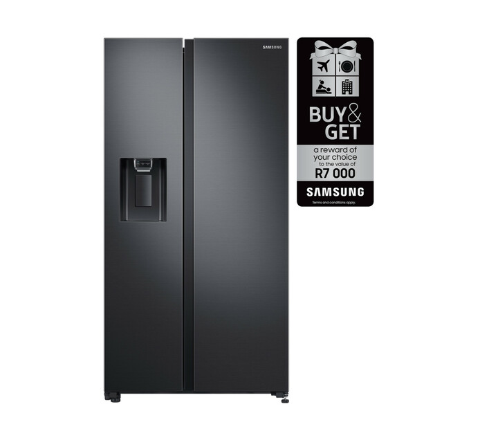 Samsung 617 l Side-by-Side Fridge/Freezer with Water Dispenser