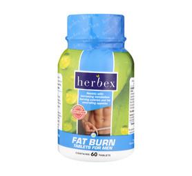 HERBEX 60's Mens Fat Burn Tablets
