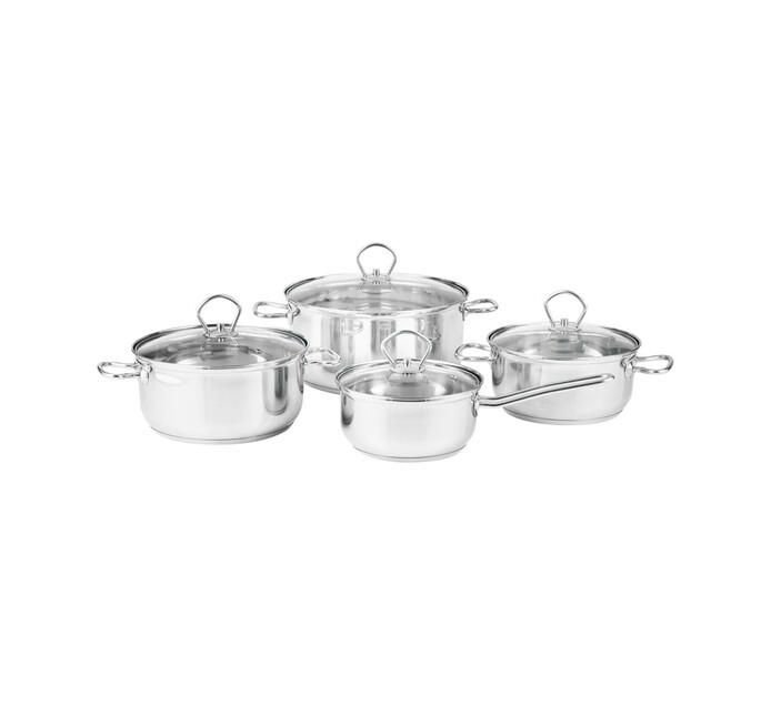 Prestige 8-Piece Stainless Steel Cookware Set