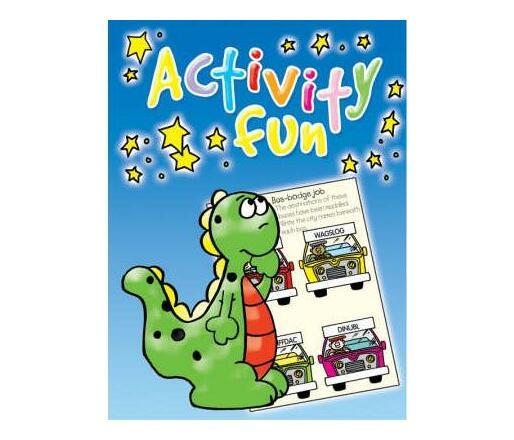 Big Blue Activity Book