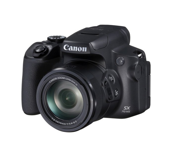 Canon PowerShot SX70 Ultra-Zoom Camera