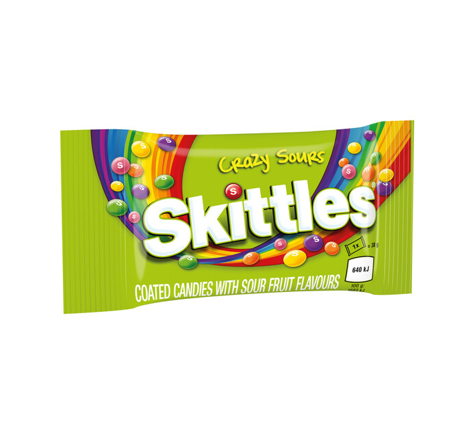 Skittles Chewy Candy Sours (1 x 38g)