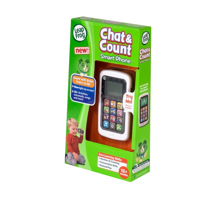 Leapfrog Chat and Count Cellphone