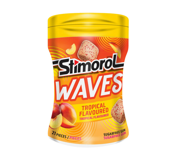 Stimorol Waves Tropical (6 x 21pc)