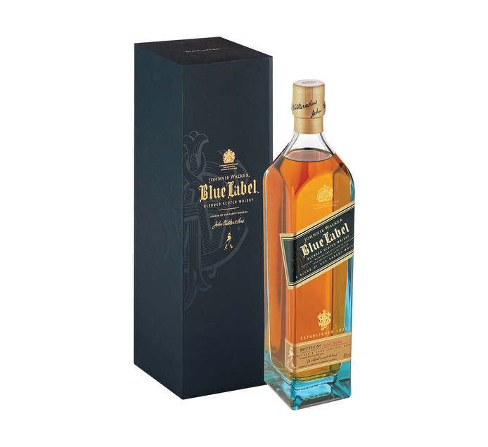Johnnie Walker Blue Label Scotch Whisky (1 x 750 ml)