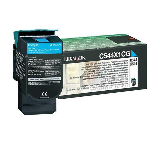 Lexmark Extra High Yield Original Toner Cartridge - cyan