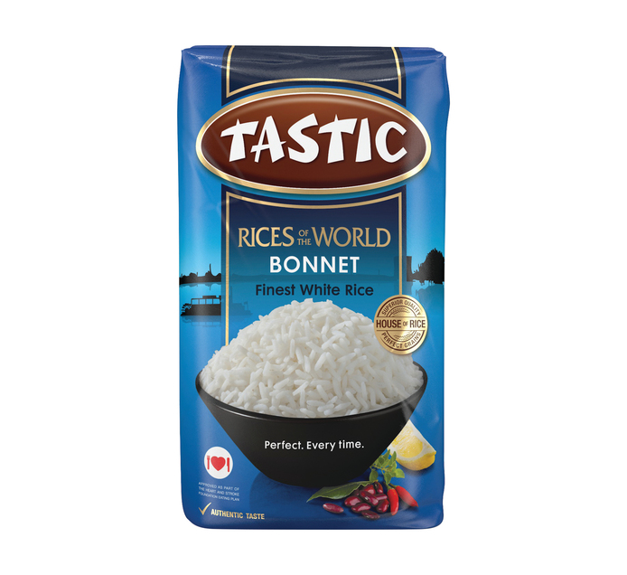 Tastic Bonnet White Rice (1 x 2kg)