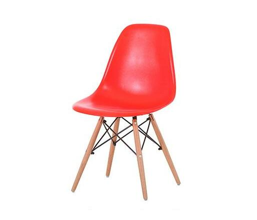 Zedo Plastic Chair - Red