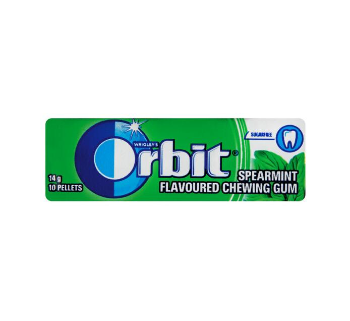 Orbit Sugar Free Gum Pellet Pack Spearmint (1 x 10PC)