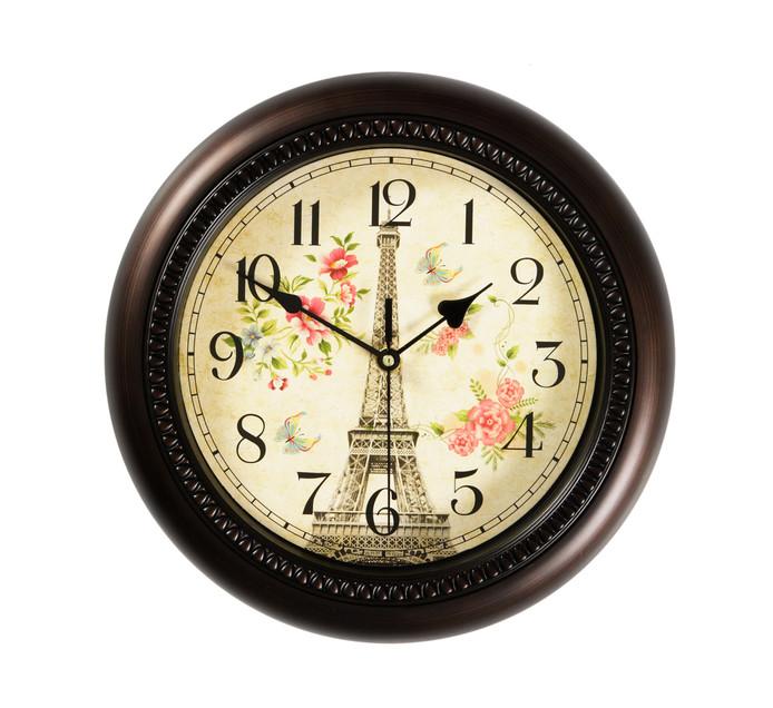 Century 30cm Wall Clock Eifel Tower