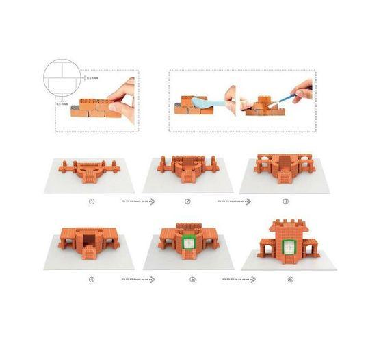 BrIQs - Dream Architect Real Brick House Building Set -200pc Set