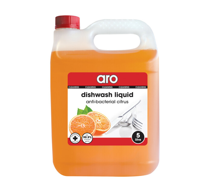 ARO Dishwashing Liquid Anti Bacterial Citrus (1 x 5l)
