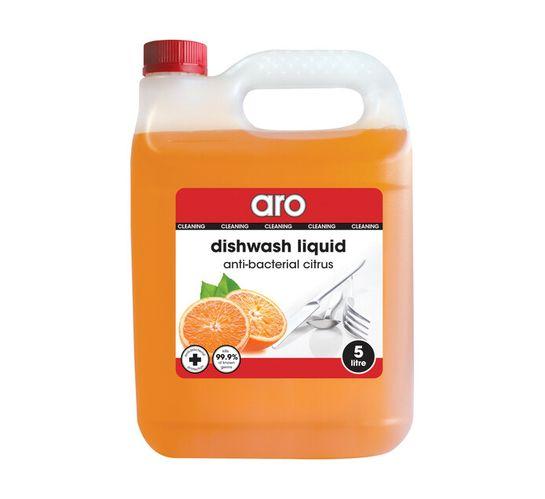 ARO Dishwashing Liquid Anti Bacterial Citrus (1 x 5l)