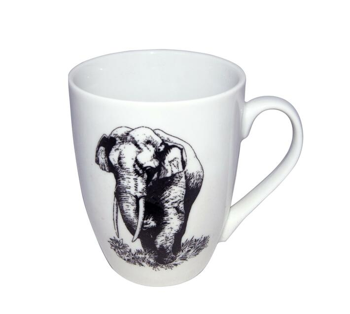 Animal print mugs