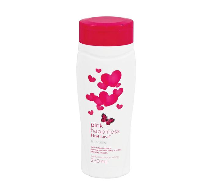 Revlon Body Lotion Pink Happiness First Love (1 x 250ml)