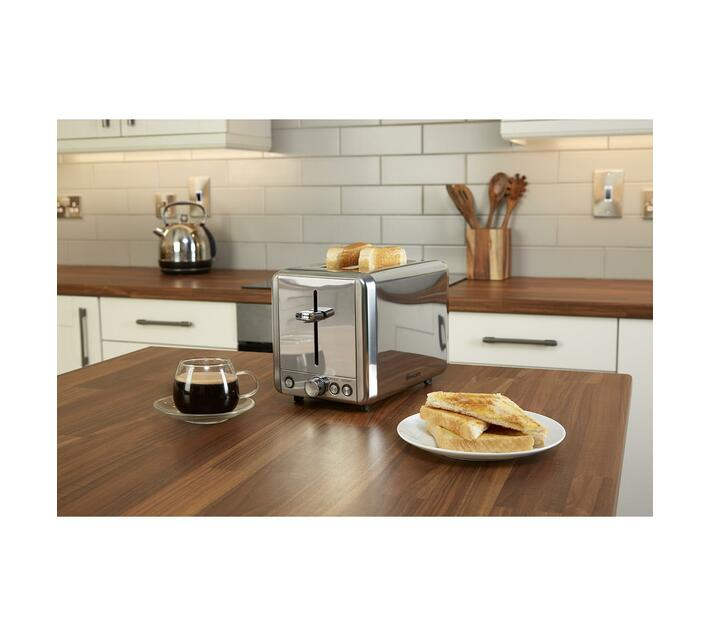 2 Slice Classic Stainless Steel Toaster