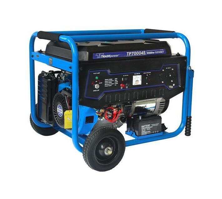 Trade Professional - TP 7000 4S - 6.5kW 15HP 8.1kVA Petrol Gen Set