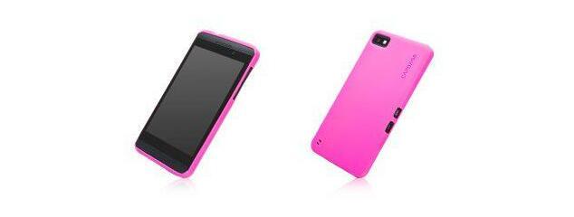 Capdase Soft Jacket BlackBerry Z10 Cover (Pink)