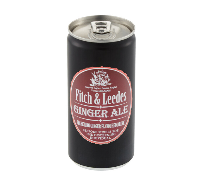 Fitch & Leedes Ginger Ale Can (24 x 200ml)