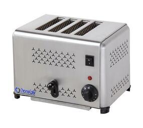 CHROMECATER Commercial 4 Slice Toaster