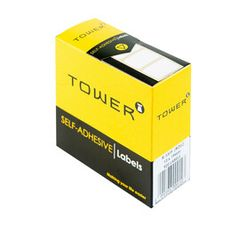Tower 13mm x 19 mm Labels Rolls White Each