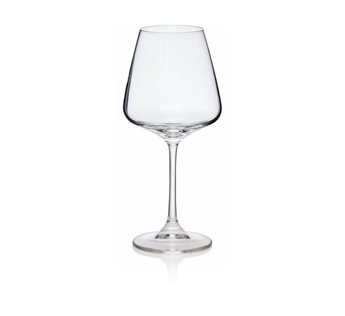 Bohemia Crystalite 360 ml Naomi Red Wine Glasses 6-Pack