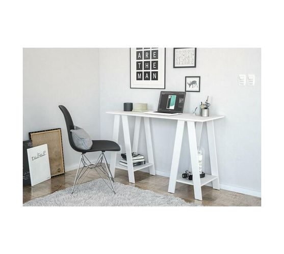 Delta White Office Table
