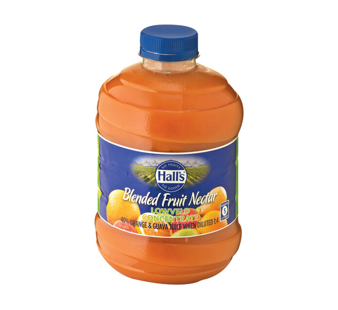 Halls Fruit Juice Lowveld Punch (1 x 1L)