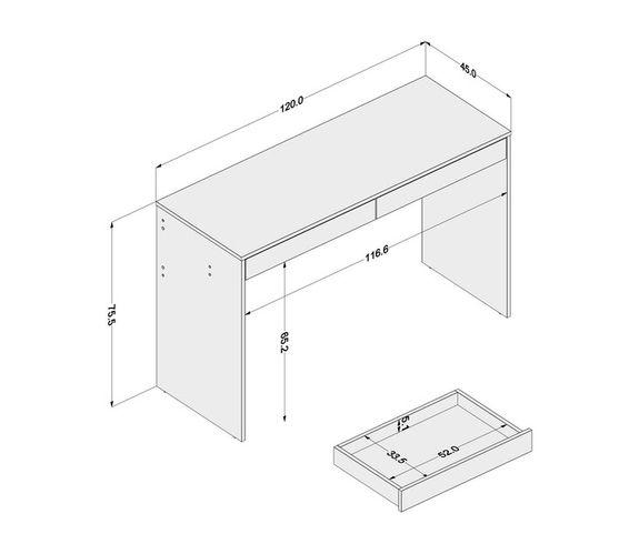 Iris Brown Desk