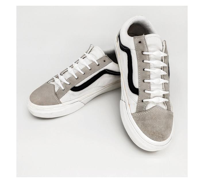 No Tie Shoelaces - White