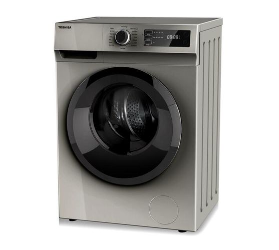Toshiba 8kg Front Loader Washing Machine, Universal Motor 1200RPM