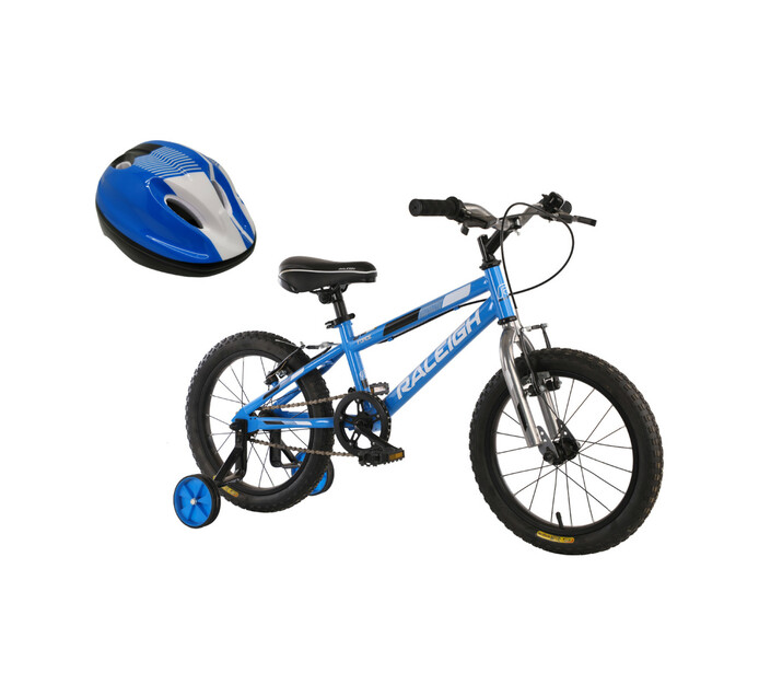 "Raleigh 16"" Force Mountain Bike Plus Helmet"