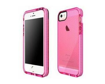 Tech21 Evo Mesh iPhone 5S/5SE Cover (Pink/White)