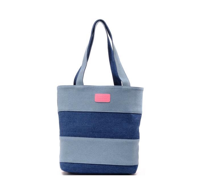 Instax Denim Handbag Flamingo Pink