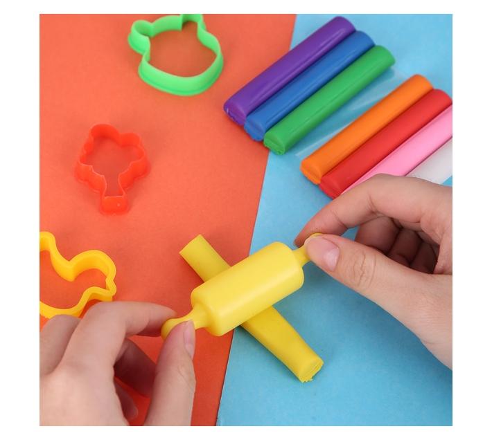 Deli Stationery Plasticine 8 Colors