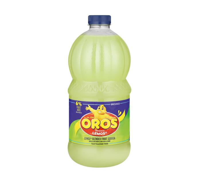 Brookes Oros Squash Lemos (6 x 2l)