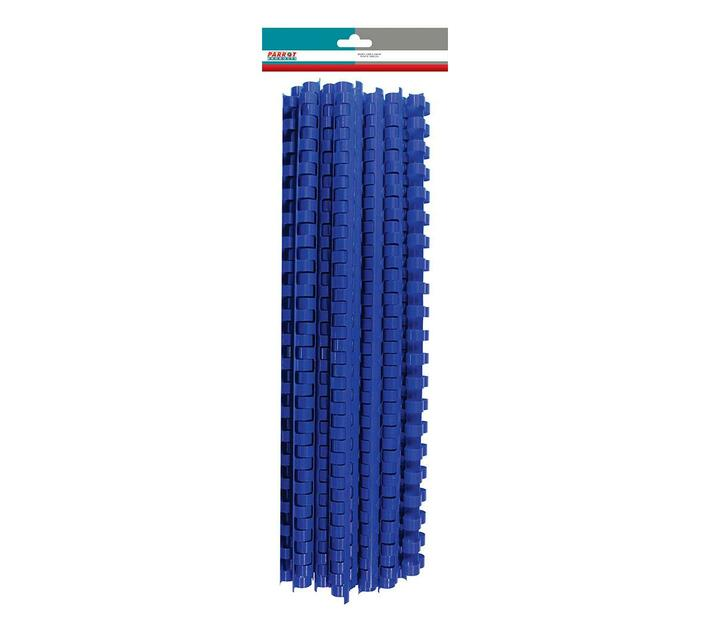 PARROT PRODUCTS Plastic Binder Combs (320 Sheet, 38mm, Bue, 25 Units)
