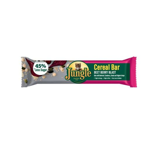 Jungle Cereal Bars Beet berry blast (30 x 40 g)