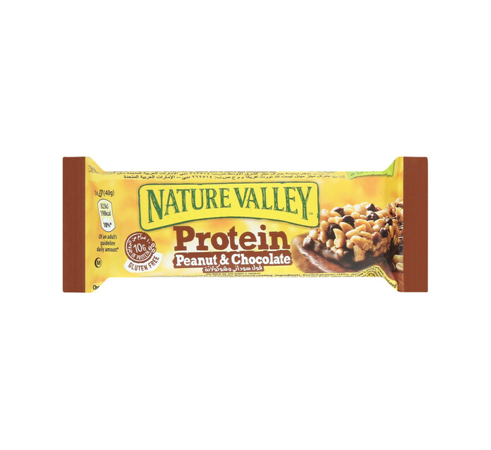 Nature Valley Protein Bar Peanut and Chocolate (1 x 40g)