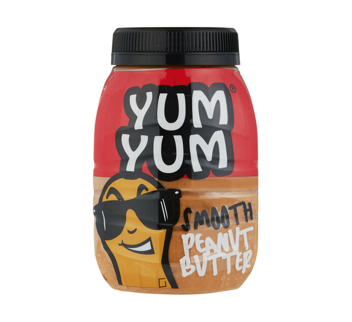 Yum Yum Peanut Butter Smooth (6 x 800g)