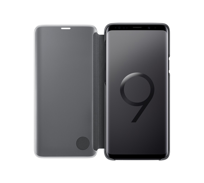 SAMSUNG GALAXY S9 PLUS CLEAR VIEW STANDING BLACK