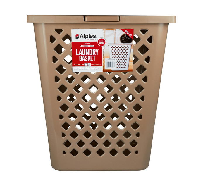 Alplas Laundry Basket with Lid